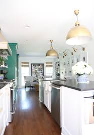how big is a kitchen island our green and white kitchen renovation emily a clark