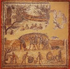 cuisine de la rome antique repas chêtre mosaïque romaine d ostie cuisine de la rome