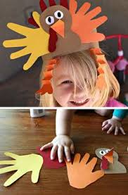 thanksgiving pilgrim indian handprint craft preschool crafts
