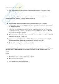 test d ingresso economia aziendale simulazione esami esercitazione di fondamenti di economia