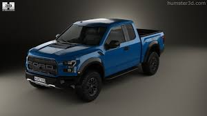 Ford Raptor Model Truck - 360 view of ford f 150 super cab raptor 2017 3d model hum3d store