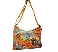 anuschka premium antique anuschka multi pocket travel cross bag antique pewter
