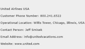 united airlines help desk united airlines usa customer service phone number contact number