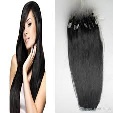 micro link hair extensions micro loop human hair extensions 100s black micro link