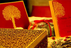 voguish wedding invitations indian wedding cards