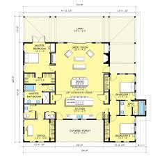 Ranch Farmhouse Plans by Ranch Style House Plan 2 Beds 50 Baths 2507 Sqft 888 5 Hahnow