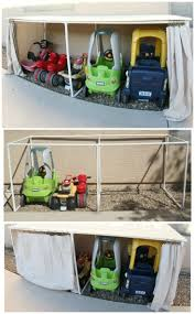 Toy Organization by Best 20 Outdoor Toy Storage Ideas On Pinterest Outdoor Toys For