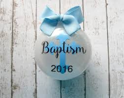 baptism ornament etsy