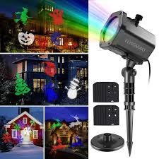halloween light display projector led christmas light projector lanyi led projector light show with