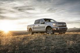 2018 ford f 150 shows off new face diesel and gas v6 engines