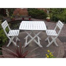 Next Bistro Table Rondeau Leisure Tropea 2 Seater Bistro Set In White Next Day