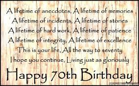 70th birthday poems u2013 wishesmessages com