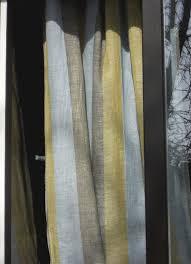 Striped Linen Curtains Linen Curtain Panel Striped Sheer Gauzy Curtain Pale от Cikucakuu