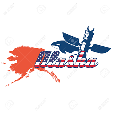 Alaska State Map by Alaska State Map Royalty Free Cliparts Vectors And Stock