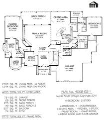 2 Story 4 Bedroom Floor Plans by 4 Bedroom House Plans Pdf Free Download Complete The Concord Two