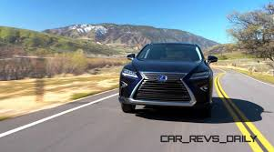 lexus glowing emblem 2016 lexus rx350 and rx450h
