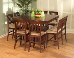 Dining Room Tables Set by New Classic Brendan 8pc Counter Height Dining Table Set In