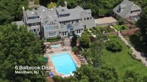Stone Mansion Alpine Nj Floor Plan by Video Of 6 Balbrook Drive Mendham Nj Real Estate Homes For Sale