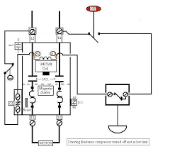 air compressor switch wiring a magnetic switch wiring 220v