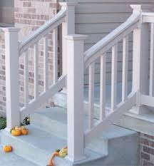 Steps With Handrails Outdoor Stair Railings Handrails Railings And Columns Exterior