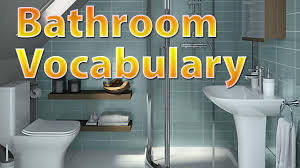 English Bathroom Bathroom Vocabulary Learn English Vocabulary With Pictures Youtube