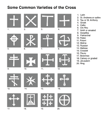 cross varieties used by christians acta indica the st