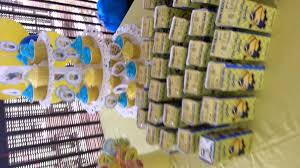 Minions Candy Buffet by Dessert Table Minion Youtube