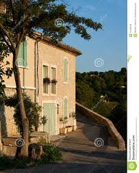 old houses in provence village grambois stock photo image 47304539