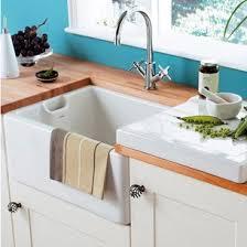 RAK  Gourmet  Bowl White Ceramic Kitchen Sink With - Ceramic white kitchen sink