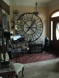 oversized home decor decorations love the oversized clock and typewriter giant chess