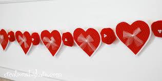 valentines banner felt banner
