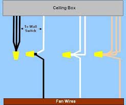 ceiling fan wiring circuit style 4