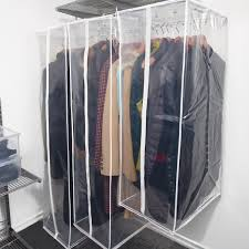 peva hanging storage bags the container store