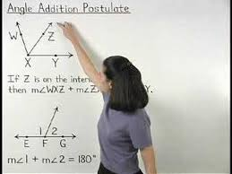 Segment Addition Postulate Worksheet Angle Addition Postulate Mathhelp Com Geometry Help