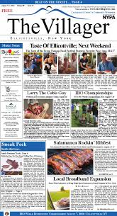 the villager ellicottville aug6 13 2014 volume 9 issue 32 by