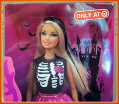 halloween barbie cute scrap layout by evelyn regly