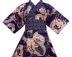 japanese inspired clothing modern kimono for kids by koolmono