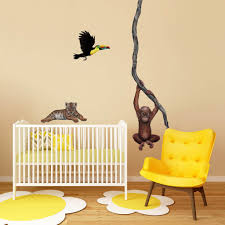 Jungle Wall Decals Toucan Wall Sticker See How You Can Transform A Room And Create