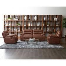 cognac leather reclining sofa abbyson skyler cognac leather reclining sofa living room