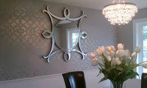 Chandelier Stencils Decoration Pink Horse Head Bedroom Wall Stencils Design Ideas For