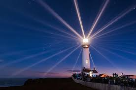 light house at night picture of the day pigeon point lighthouse twistedsifter