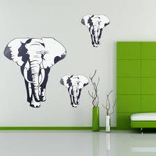 online get cheap elephant wall decor sticker aliexpress com