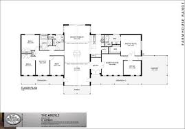 one story floor plan with 5 bedrooms open family kitchen dinning