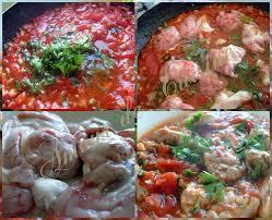 cuisiner le mouton cervelle d agneau en sauce tomate chtitha mokh amour de cuisine