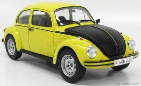 Solido 1800502 Scale 1 18 Volkswagen Beetle Gsr 1973 Yellow Matt