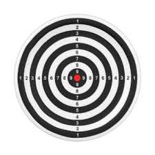 target shooting plates zazzle