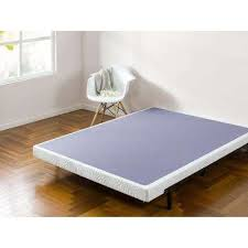 Bed Frame For Boxspring And Mattress Bed Frames Box Springs Bedroom Furniture The Home Depot