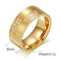 make gold rings images Fashion dubai 18k gold rings for men saudi wedding rings jewelry jpg