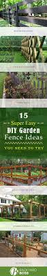 Diy Garden Fence Ideas 15 Easy Diy Garden Fence Ideas You Need To Try
