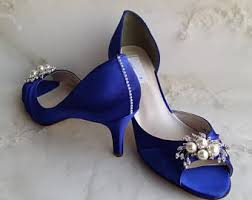 wedding shoes royal blue royal wedding shoes etsy